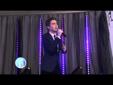 Harrison Craig sings 'You Raise Me Up' at the Pride of Australia awards 2013
