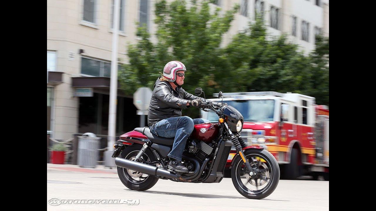 Harley Davidson: 2015 Harley-Davidson Street 750 Second Ride