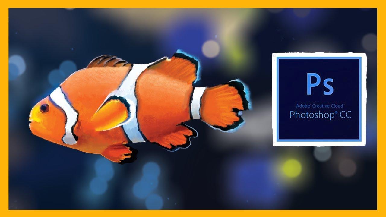 Digital Speedpaint: Clown Fish - YouTube