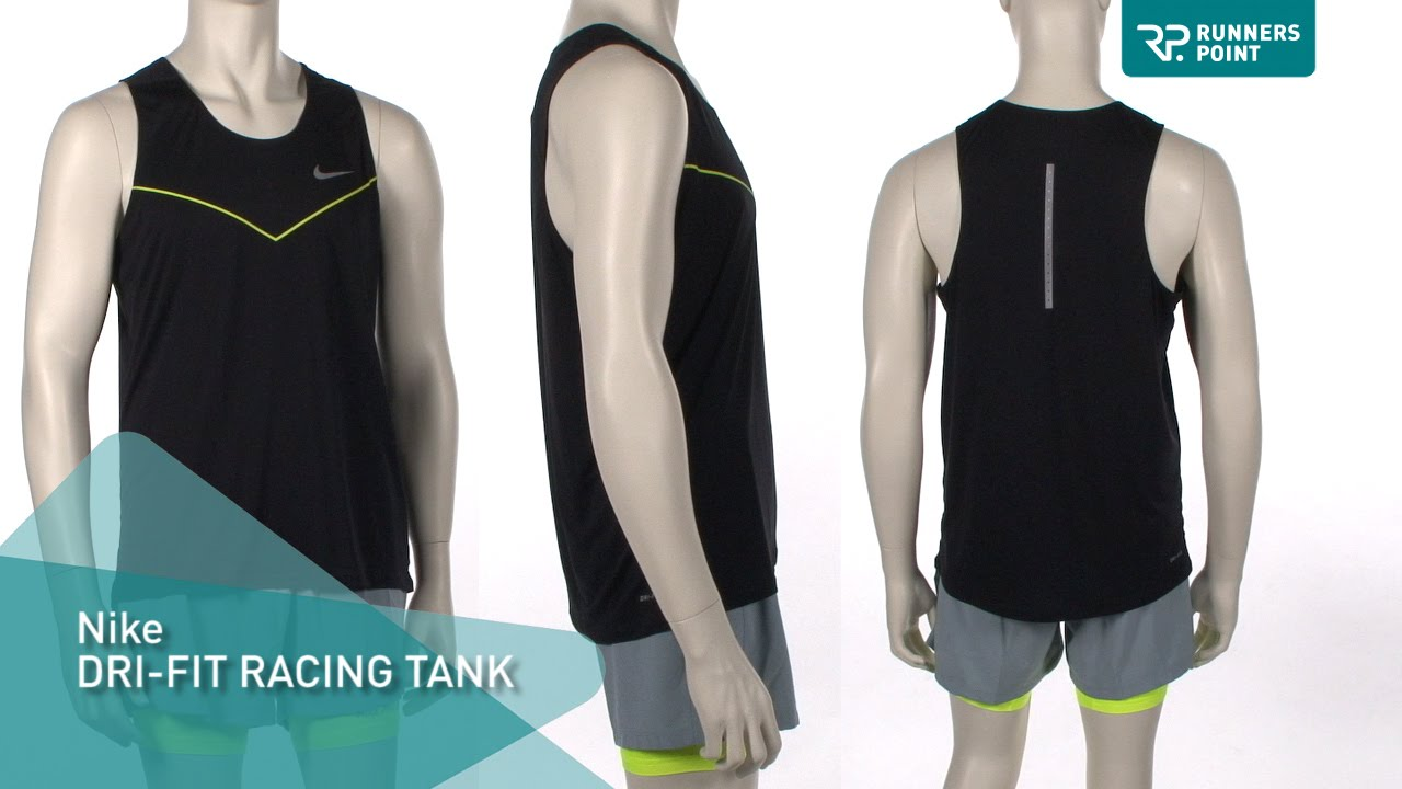 53d2b422ac4 Nike Dri Fit Racing Tank Herren