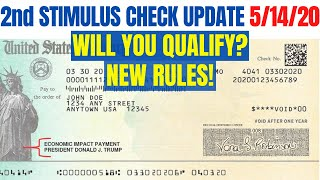 Second Stimulus Check: WHO QUALIFIES? (New Rules + Retroactive Pay)