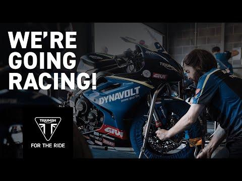 We're going racing! - Dynavolt Triumph