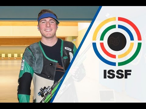 Interview with Andre LINK (GER) - 2015 ISSF Rifle and Pistol World Cup in Munich (GER)
