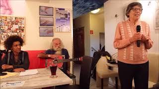 Vernissage Amoh Kunst KrizeKraze im Cafe Benedikt