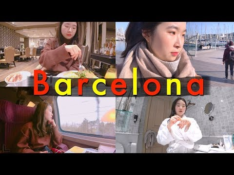 Intern Vacation in Barcelona: Day in the Life of a Doctor l twinklinglena