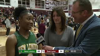 Holly Misto and Jayden Burns post-game interview