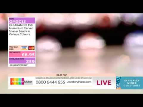How to make Gemstone Jewellery - JewelleryMaker LIVE (am) 31/07/2014
