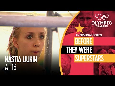 Teenage Nastia Liukin Worked Hard for Olympic Glory | Before They Were Superstars