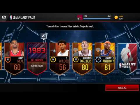 NBA LIVE MOBILE | VARIETY PACK OPENING! ELITES EVERYWHERE