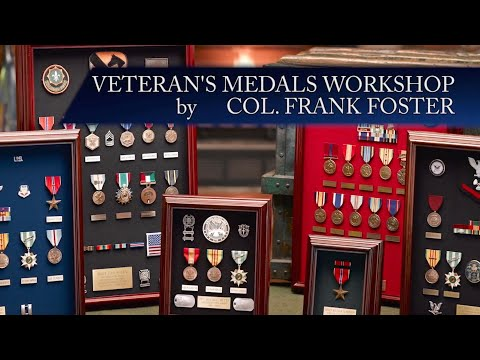 World War II Veteran's Military Medals Workshop
