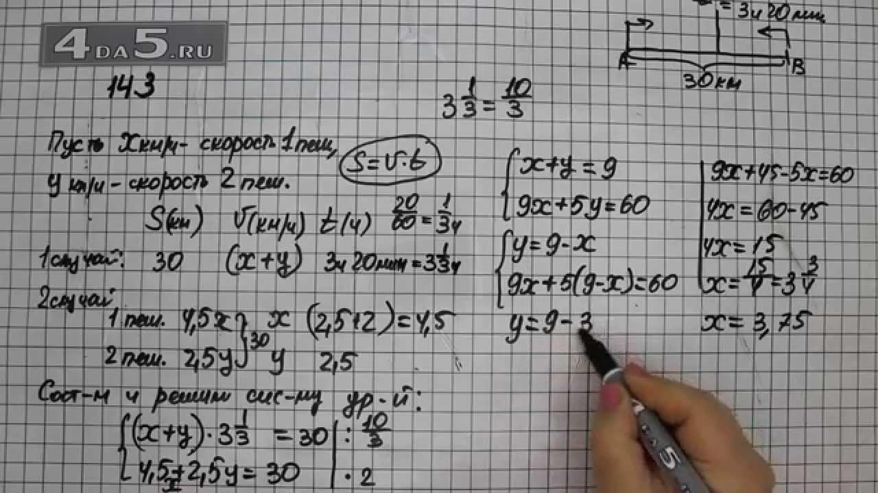 А.г мордкович 7 класс задание 14.3 с описанием