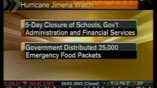 Hurricane Jimena Weakens - Bloomberg