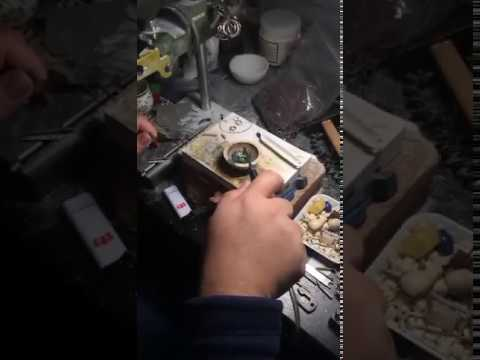 HHO jewelry welding machine for gold being melted -okayenergy