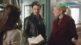 once upon a time 6x09 emma hook belle book ink changelings season 6 episode 9