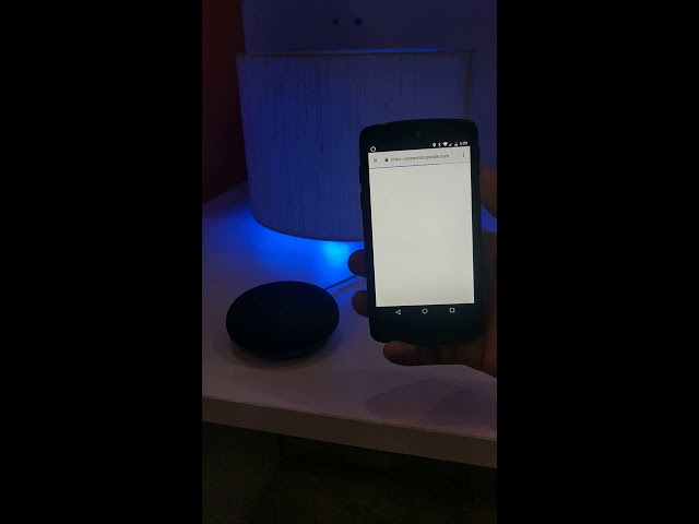 How to setup Mansaa Smart Light with the Google Assistant?