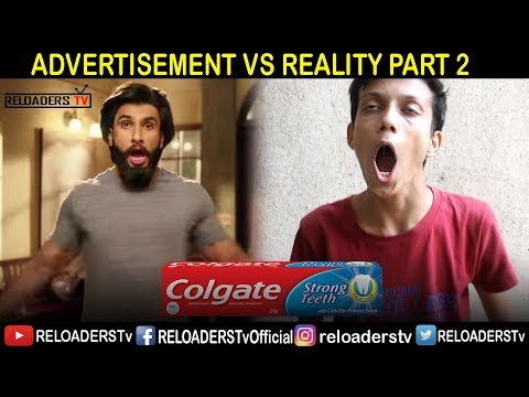 ADVERTISEMENT VS REALITY | ADS VS REALITY | PART 2