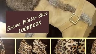 Shoe Addiction #2::: Winter Shades of Brown