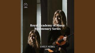 Violin Sonata in G Minor: I. Allegro vivo