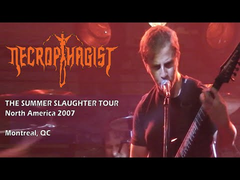 Necrophagist - Live At Foufounes Electriques - Montreal, QC - July 04, 2007