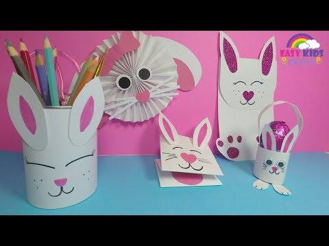 easy-paper-bunny-craft-for-kids-|-diy-easter-paper-crafts