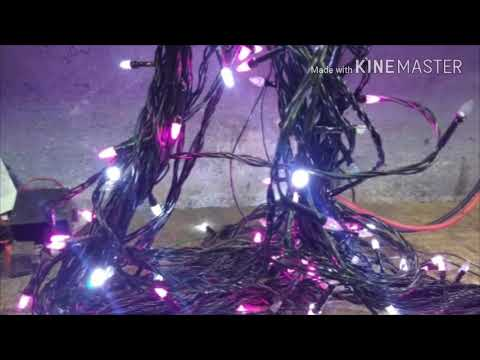 how to repair fancy deepawali light - Christmas Tree Light Repair