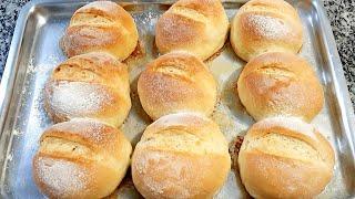 Pão Assado Banhado Na Manteiga