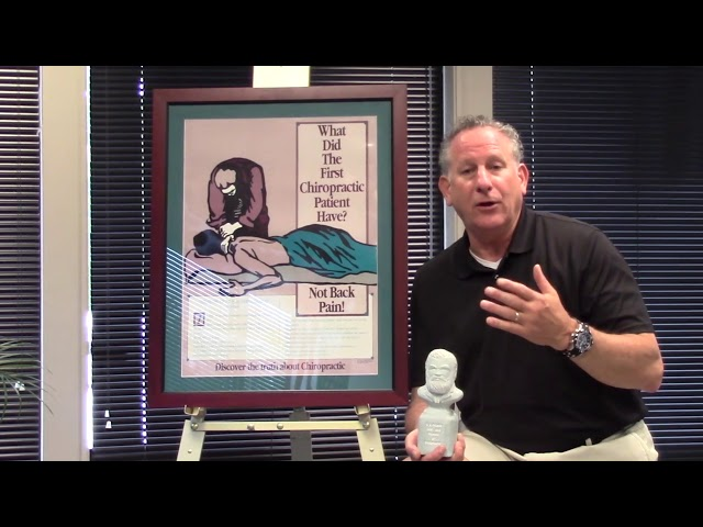 what did the first chiropractic patient have? Ask Dr. McCord