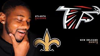 Falcons vs. Saints Week 10 Highlights | NFL 2019 🏈 REACTION