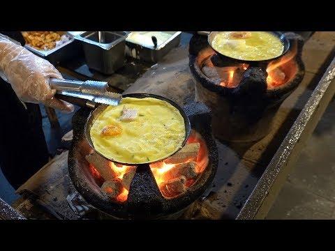 Amazing $0.3 Vietnamese Crepe (Banh Xeo) – Vietnam Street Food / Helio Night Market, Danang