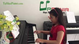 Lớp học piano trẻ em Thủ Đức - Bài ca đi học - Upponia.com - Tuhocpiano.com