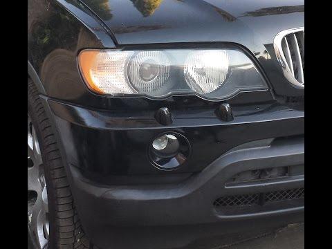 BMW X5 Xenon Headlight Removal