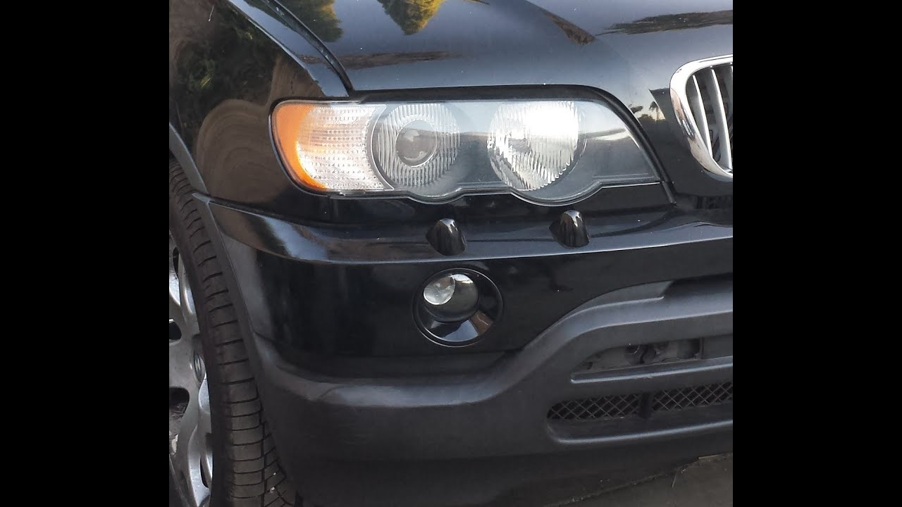 Bmw X5 Xenon Headlight Removal Youtube