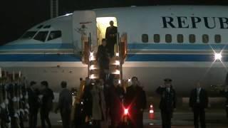 El Presidente Macri llegó a Paraguay para asistir a la asunción de Mario Abdo Benitez