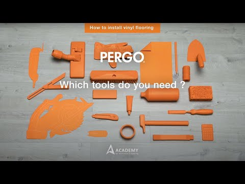Installing Pergo Vinyl Flooring Which Tools Do You Need Youtube