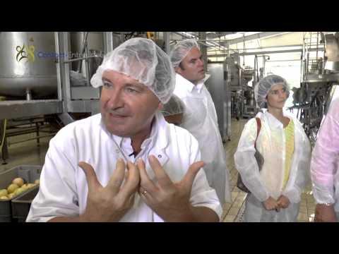 Visite de l'entreprise DENEL : Un fleuron martiniquais de l'industrie agroalimentaire