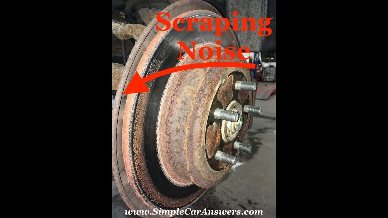 Scraping Noise While Driving