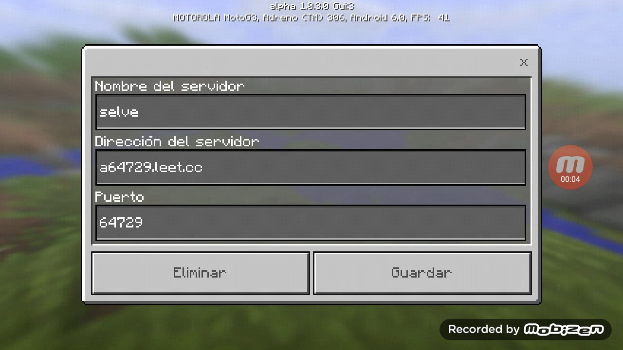 how to connect to a server in minecraft pe
