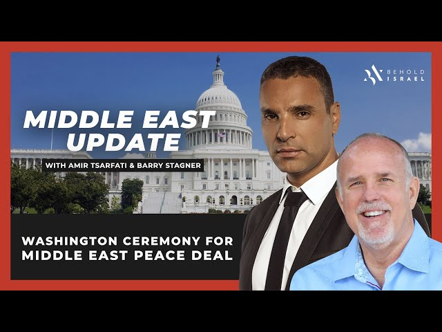 Amir Tsarfati: Middle East Update with Pastor Barry Stagner