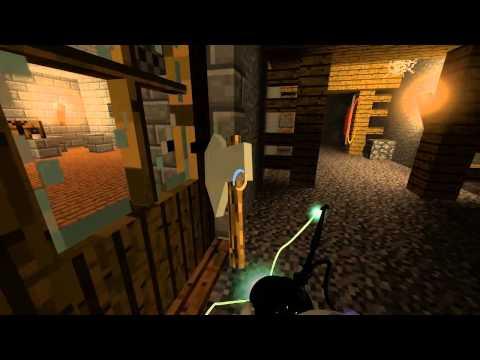 видео: Portal 2 - Minecraft в Portal 2 #2 [Карта]
