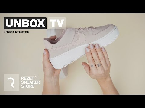 Unboxing - Nike Air Force 1 Sage Low