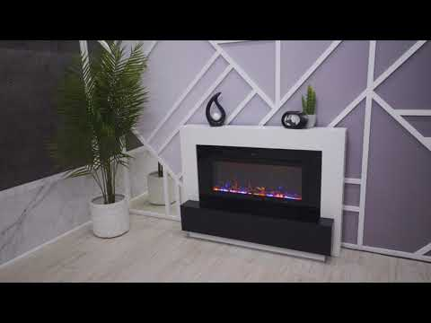 Электрический Очаг Royal Flame Crystal 36 RF. Видео 1