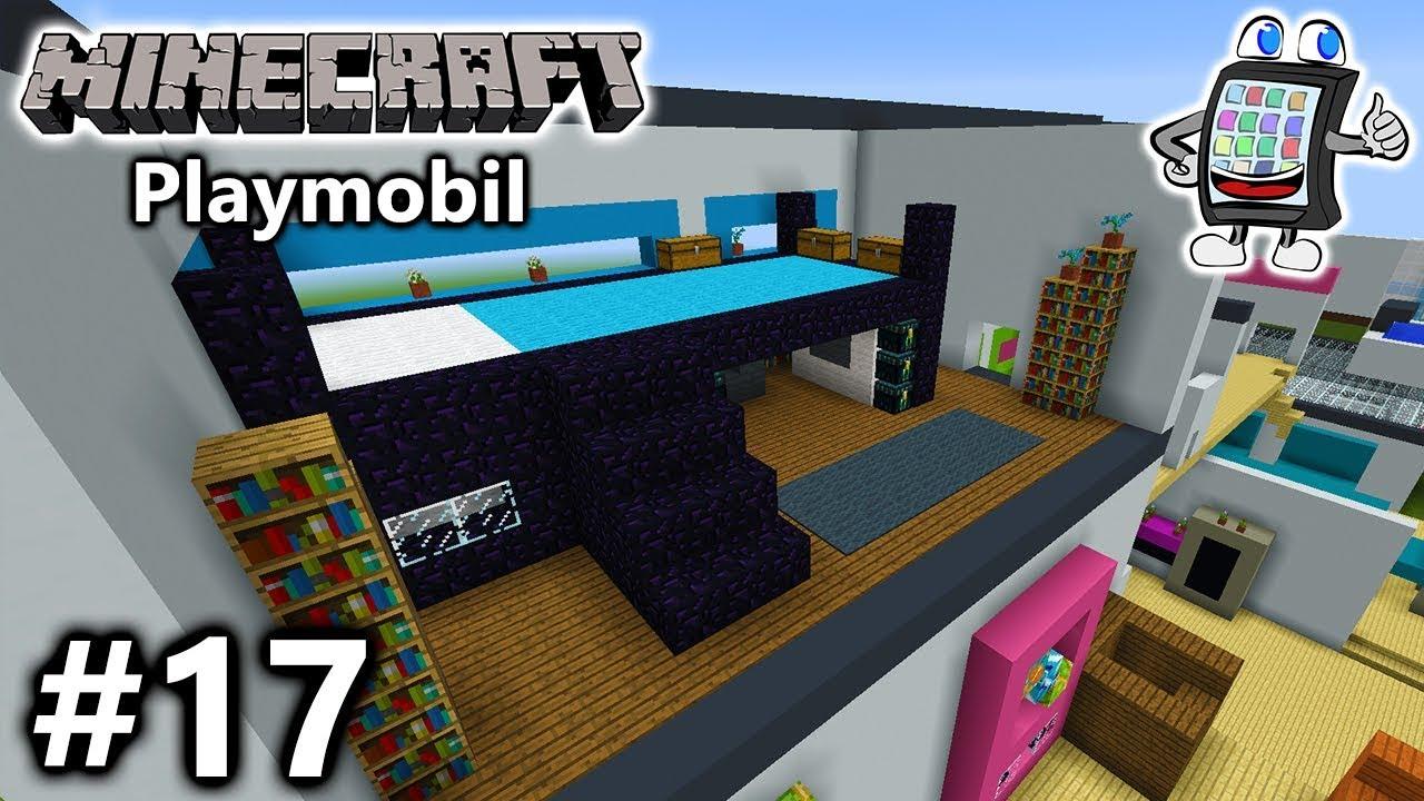 MINECRAFT Playmobil Luxusvilla Bauen JULIANS MODERNES - Minecraft lustige hauser