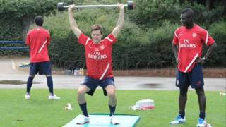 Arsenal Pre Season Training 2011 pictures
