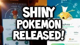 SHINY POKEMON NOW RELEASED IN POKEMON GO! ★ NEW POKEMON GO SHINY POKEMON UPDATE (Shiny Magikarp)