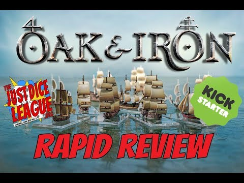 Oak & Iron Rapid Review (Kickstarter Edition) by Firelock Games