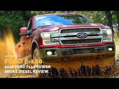 2018 Ford F 150 Power Stroke Diesel | Off Road Test Drive & Review.