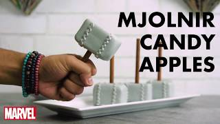 Mjolnir Candy Apples | Thor: Ragnarok