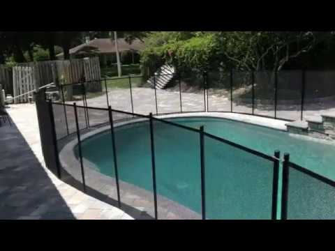 How To Install Swimming Safety Pool Fence Diy To Install Removable