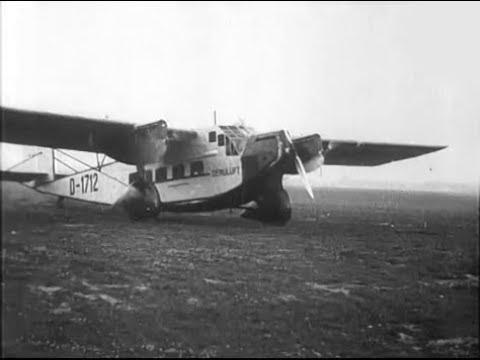 "Deruluft Rohrbach Ro VIII ""Roland II"" D-1712 at Frunze Central Aerodrome in Moscow, 1934"
