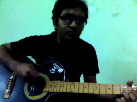 beche thakar gaan  guitar